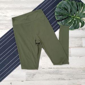 Buffbunny Collection  High Waisted Leggings Green